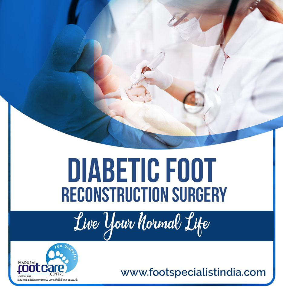 foot ulcer surgery tamilnadu
